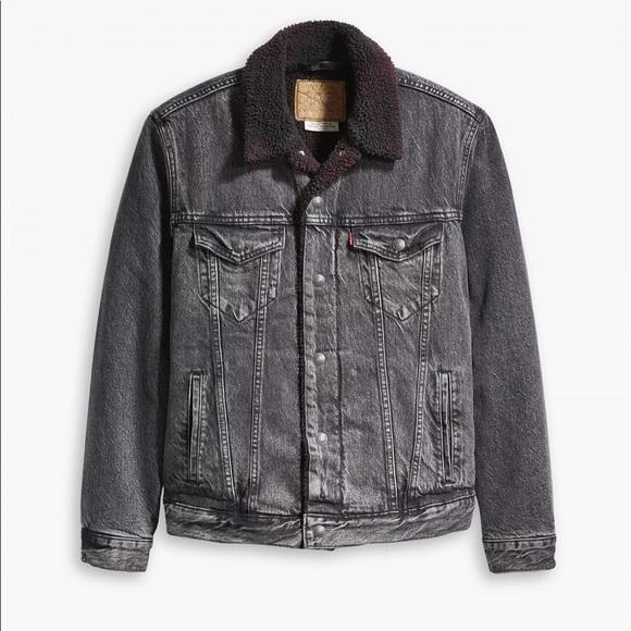 Levis Justin Timberlake Trucker Sherpa Jacket